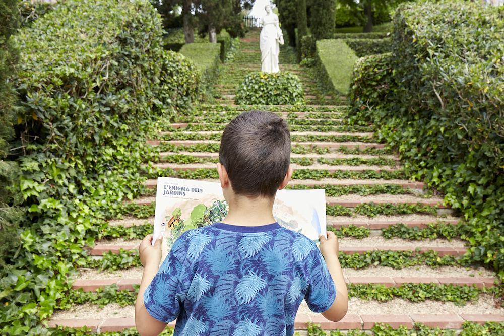 Jardines Danta Clotilde en familia