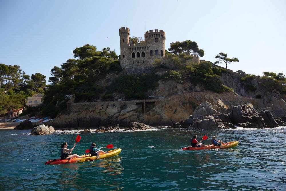 Kayak en Lloret de Mar